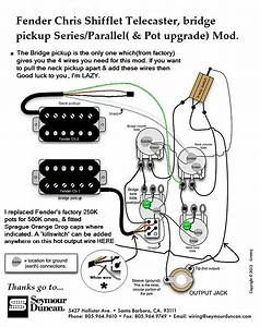 Shiflett Tele Deluxe Pickups And Wiring