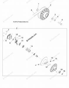 Polaris Side By Side 2013 Oem Parts Diagram For Drive