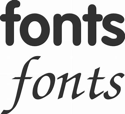 Fonts Font Clip Clipart Svg Alphabet Different