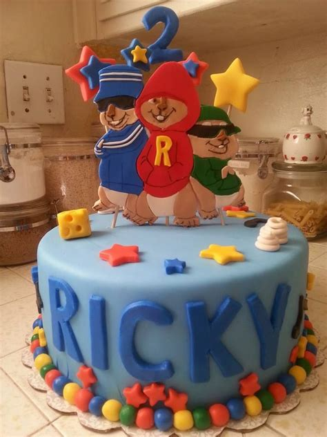 alvin and the chipmunks cake decorations 17 best images about alvin and the chipmunks theme on