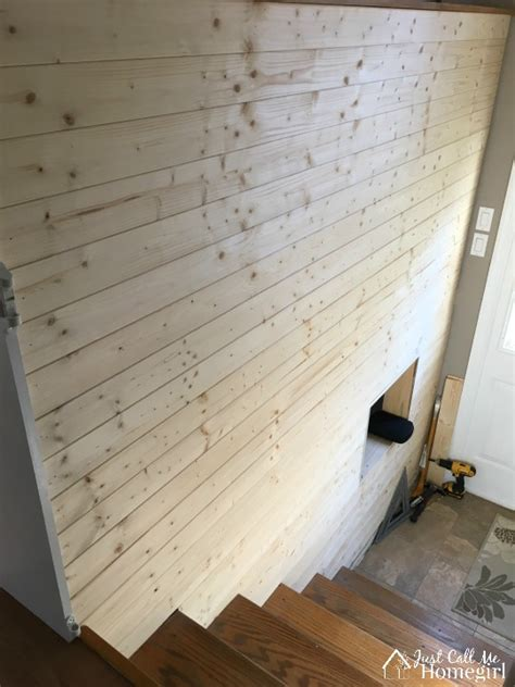Ee  Faux Ee   Shiplap Entry Just Call Me Home