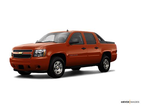 Dohmann Chevrolet by Inferno Orange Metallic 2009 Chevrolet Avalanche 2 Wheel