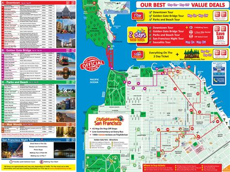 usa sightseeing map  travel information