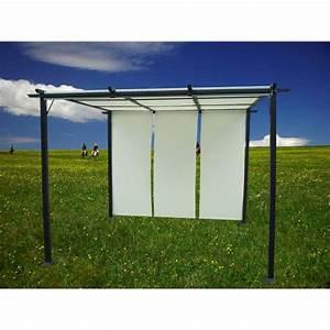 Pergola Toit Coulissant : tonnelle de jardin cube avec toit coulissant ec achat vente tonnelle barnum tonnelle de ~ Melissatoandfro.com Idées de Décoration