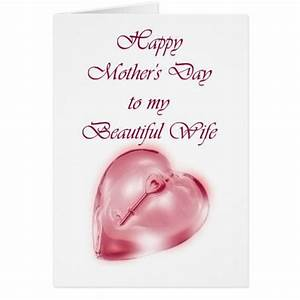 Happy Mother 39 S Day To From Husband Greeting Card Zazzle