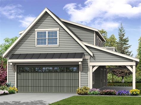 Garage Plans With Porch by 051g 0100 Garage Plan With Loft And Covered Porch