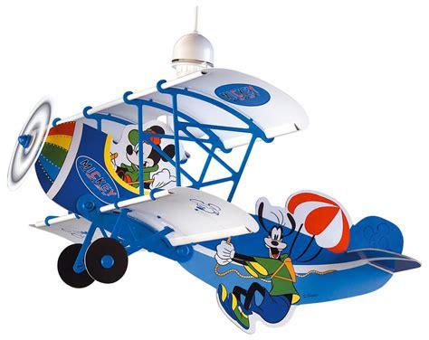 suspension chambre bébé fille mickey luminaire suspension lustre quot avion quot mickey