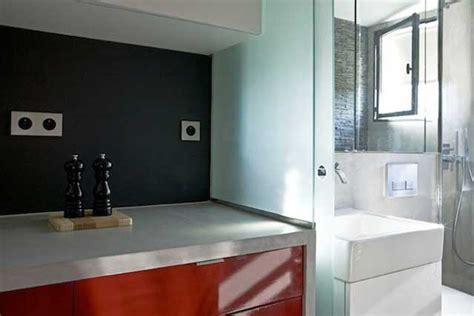 square foot micro apartment  paris big tricks   tiny place
