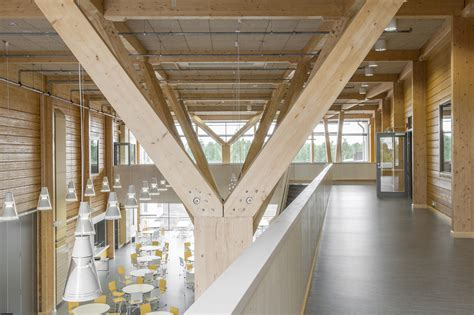 The Purity Of Expressive Timber Structure Celebrated In