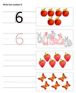 Pre-K Math Worksheets Printable