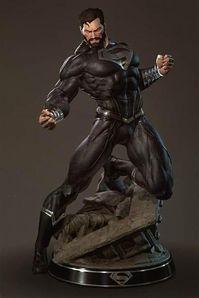 Superman Kent Clark Action Figures Render Kravchuk