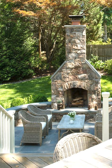 deck fireplaces creative outdoor fireplace designs and ideas