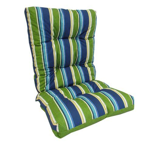 coussin de chaise avec dossier coussin réversible pour chaise d 39 extérieur à dossier haut