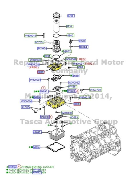 Ford 6 0l Engine Diagram by New Oem Filter Adapter Ford Excursion F250 F350 F450