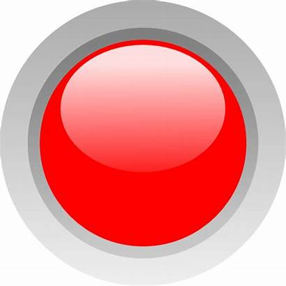 Circle Led Clip Vector Transparent Button Dark
