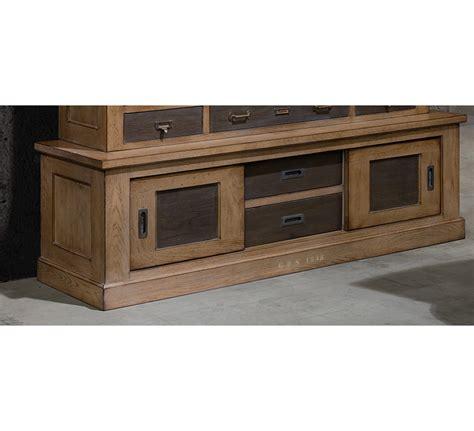 prix canapé monsieur meuble meuble tv chêne massif quot factory quot 5777