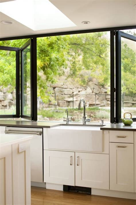 indoor outdoor kitchens   dreams apartment therapy