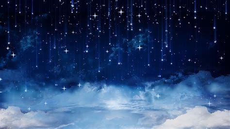 falling stars  clouds background stock video footage storyblocks video