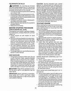 Page 15 Of Craftsman Lawn Mower 28035 User Guide