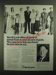 1987 Merrill Lynch Ad - All Kinds of Mutual Funds