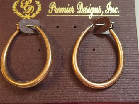 Cinnamon Retired Premier Designs Earrings