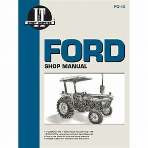 1115-2224 - Ford  New Holland Service Manual 80 Pages  Does Not Include Wiring Diagrams