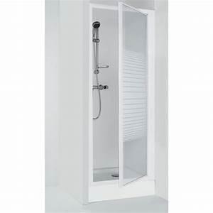 porte de douche pivotante deba 90 cm achat vente porte With porte douche extensible