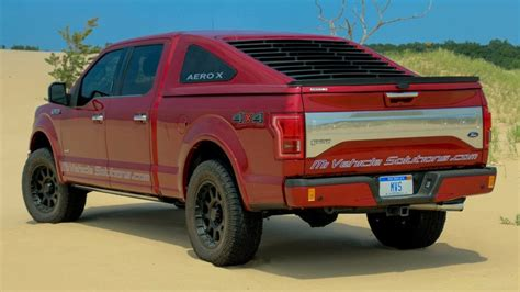ford   fastback truck cap draws attention  lasco