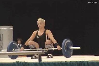 Female Weightlifter Samantha Wright Weightlifting Olympic Benefits