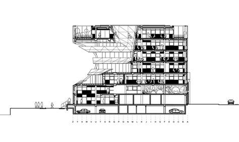 The Orange Cube By Jakob + Macfarlane Architects