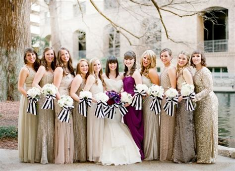 10 Ways To Rock Sequin Bridesmaid Dresses At Your Wedding