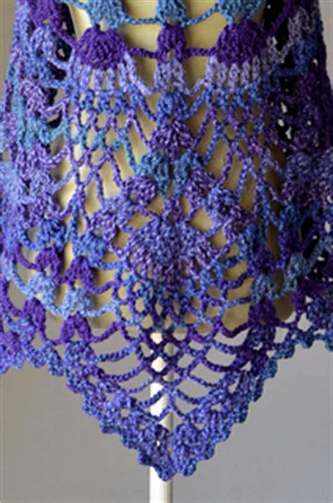ravelry pineapple peacock shawl pattern  amy gunderson