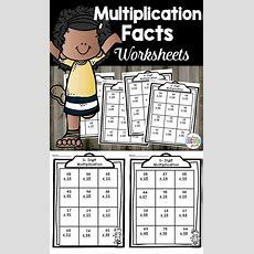 Multiplication Worksheets  * Second Grade Friends Bilingual And Regular Education Math