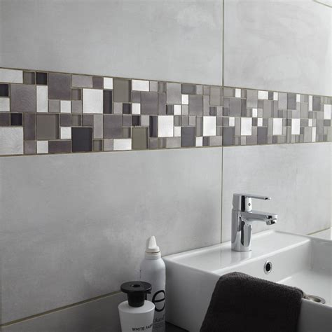 gonthier cuisine et salle de bain salle de bain noir et blanc carrelage