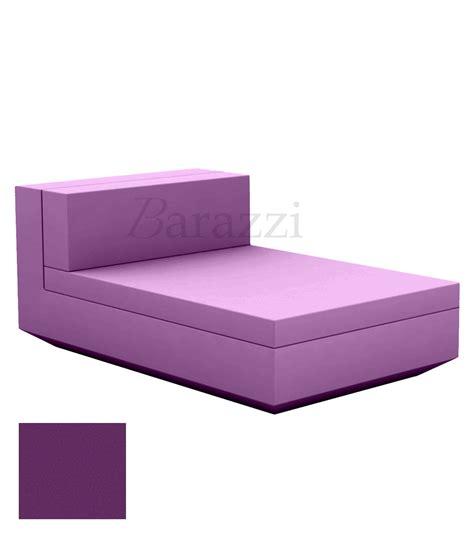 canape butterfly méridienne d 39 extérieur vela sofa module central et mat par