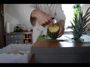 Ananas Schneiden Gerät : ananas schneiden leicht gemacht youtube ~ Watch28wear.com Haus und Dekorationen