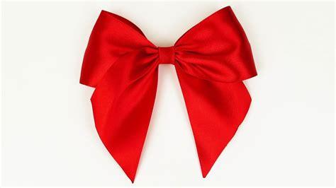 ribbon bow how to make a bow i easy ribbon bow tutorial i diy youtube