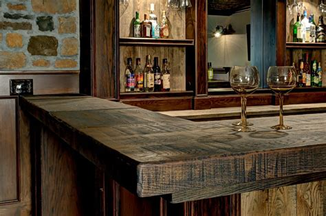 decorating kitchen countertops ideas sports bar basement rustic with traditional wine glasses