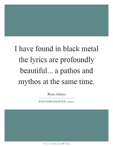 Black Metal Lyrics Quotes