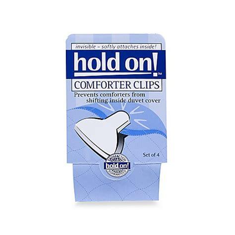 comforter clips set   bed bath