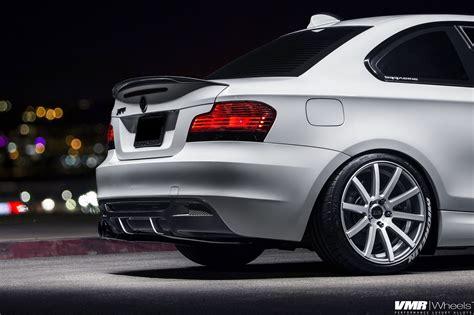 best bmw 135i alpine white bmw e82 135i with vmr wheels