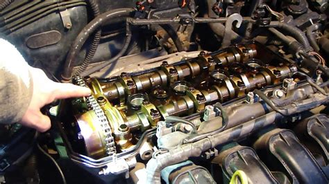 check timing chain status vvt  engine toyota