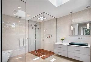 A look at some glass enclosed showers from houzzcom for Houzz com bathroom tile