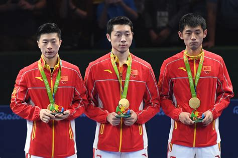 Table tennis had appeared at the summer olympics o. Rio 2016: China Win Men's Team Table Tennis Gold