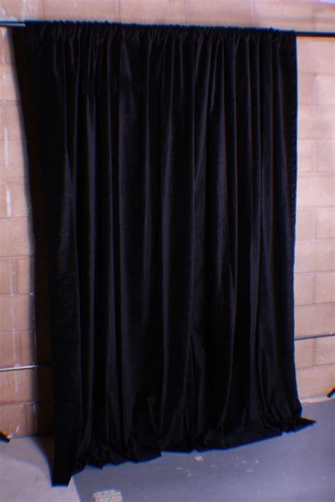 new black velvet curtains backstage background
