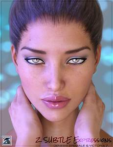 Z Subtle Expressions for Genesis 3 Female & Victoria 7 ...
