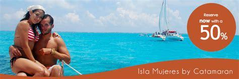 Full Day Isla Mujeres Catamaran Sailing Adventure by Safe Tours Riviera Maya Isla Mujeres By Catamaran Round