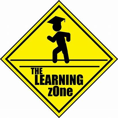 Learning Zone Clipart Sign Ahead Road Transparent