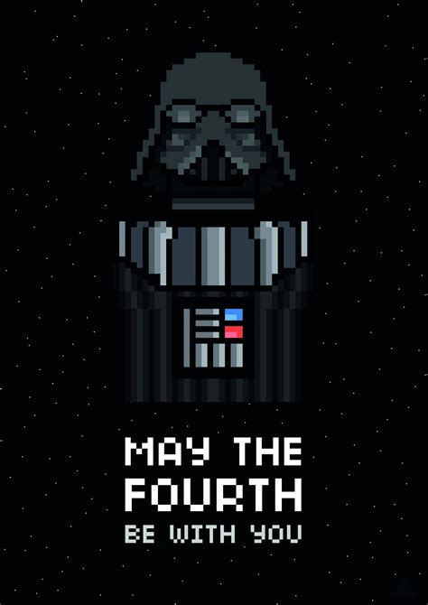 May The Fourth Be With You Art by James Landing | May the ...