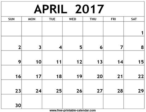 free printable calendar 2017 printable calendar templates 2017 printable april calendars print blank calendars free